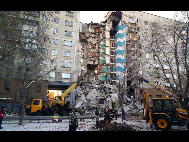 18 са вече жертвите на рухналия блок в Магнитогорск
