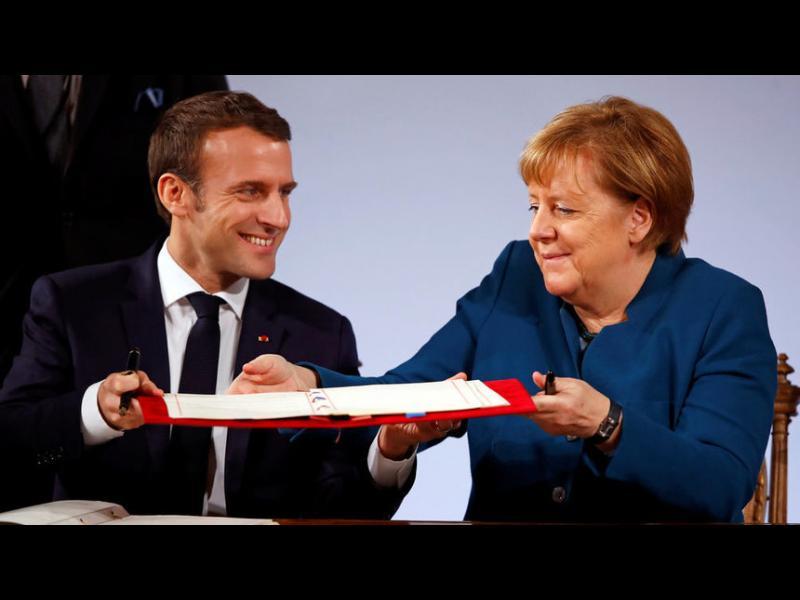 Франция и Германия направиха стъпка към създаването на европейска армия