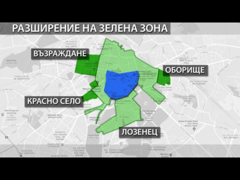 """Зелената зона в София """"погълна"""" двор на кооперация - картинка 1"""