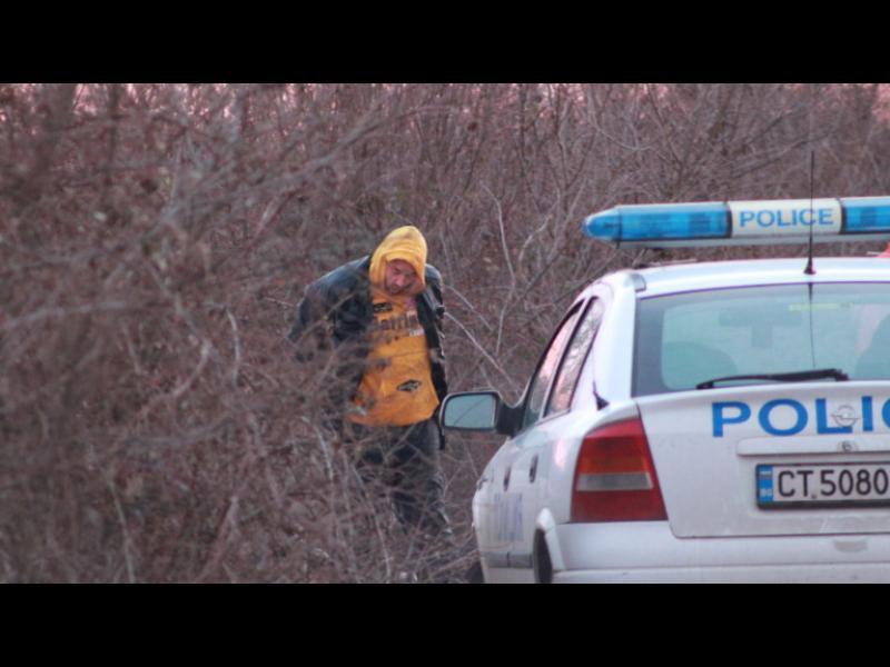 Задържан е беглецът след гонката край Стара Загора