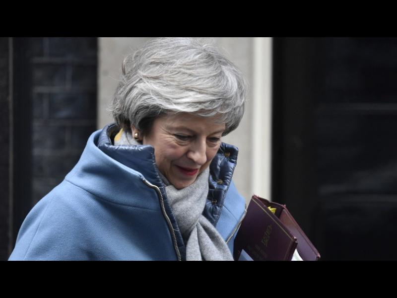 Мей: Ако искате да избегнете Брекзит без сделка, гласувайте за споразумението ми - картинка 1