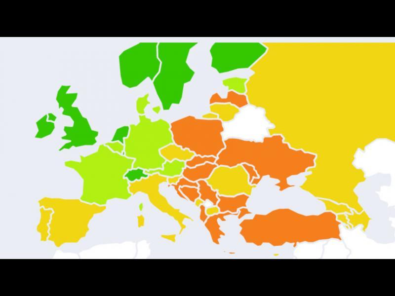 Класация: България е на дъното по върховенство на закона в ЕС - картинка 1