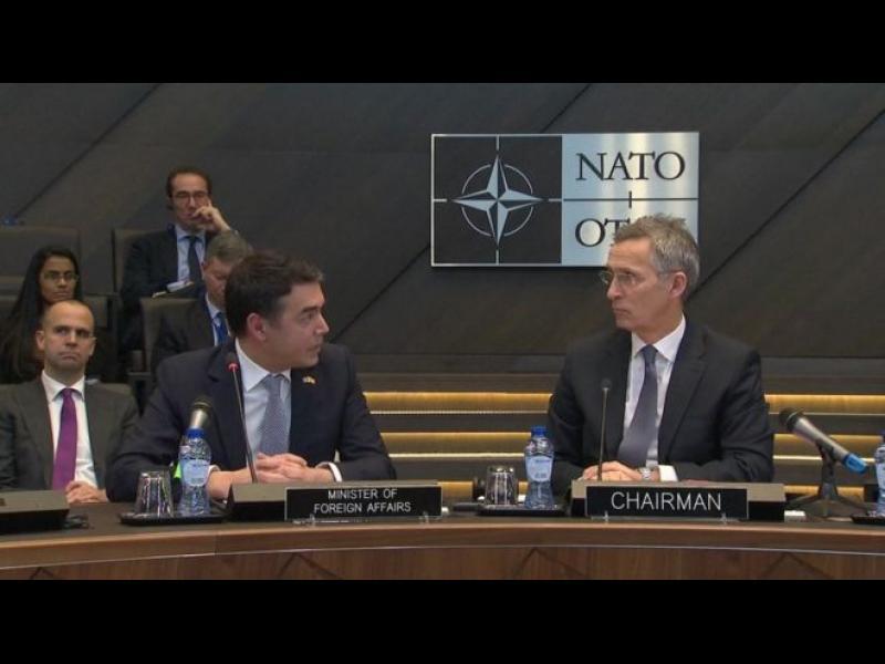 Скопие подписа протокола за присъединяване към НАТО