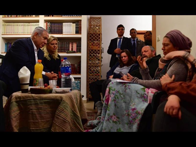 Нетаняху иска спиране на парите за палестинските територии след убийството на израелско момиче