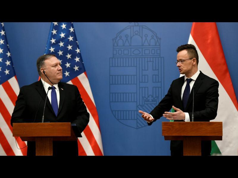 """САЩ призовават Унгария да не подкрепя """"Турски поток"""" - картинка 1"""