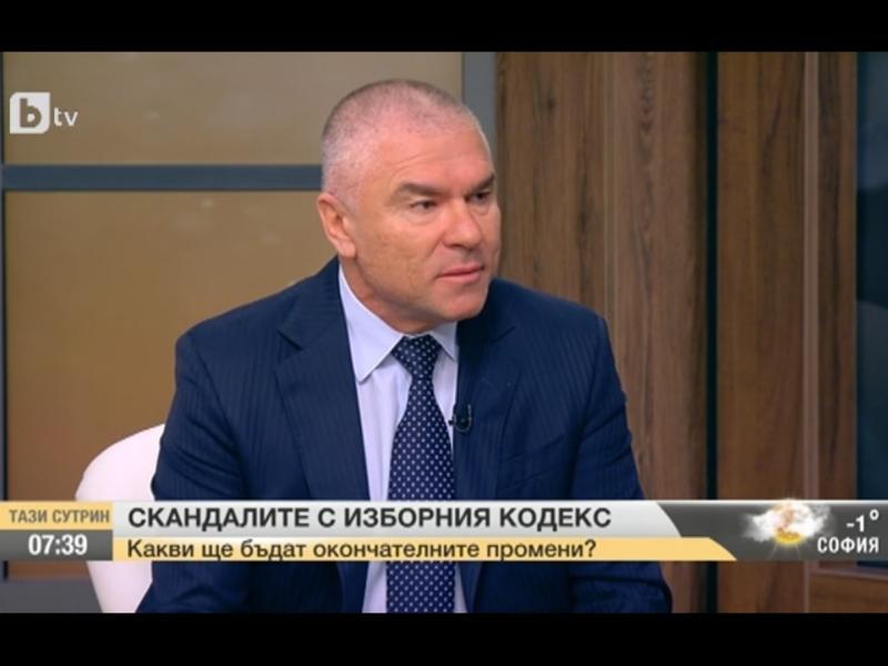 Веселин Марешки: Когато листата е подредена от вожда, преференцията няма значение