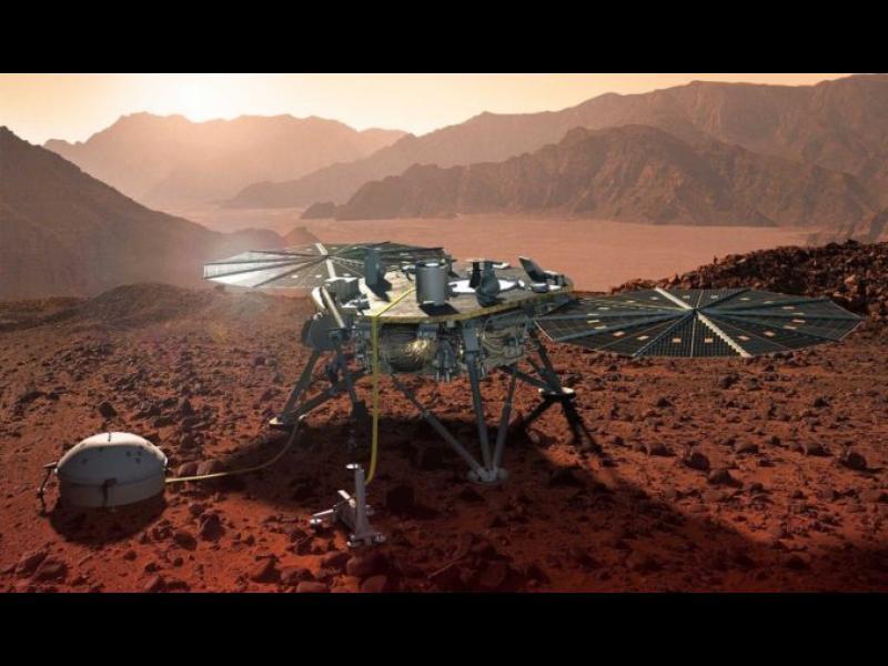 НАСА започна да предоставя ежедневни данни за времето на Марс