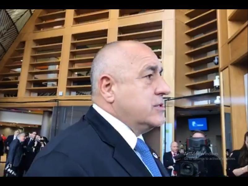 Борисов: Като се прибера от Брюксел, всеки ще си понесе последствията (ВИДЕО)