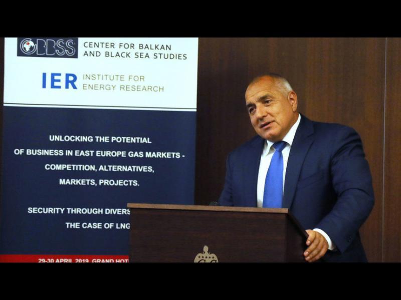 Борисов заговори за дотации и доставка на американски газ в България