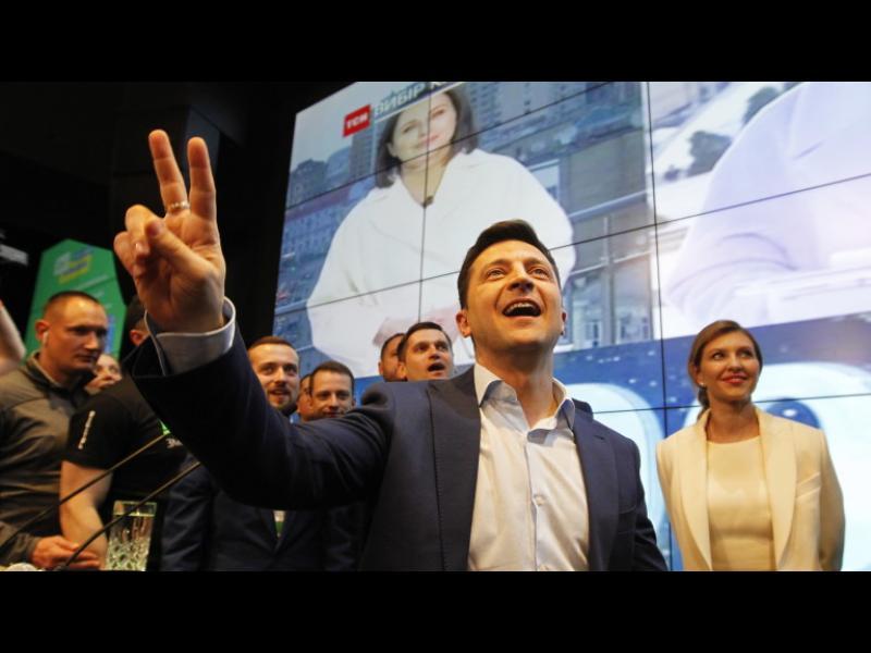 Зеленски е избран за президент на Украйна