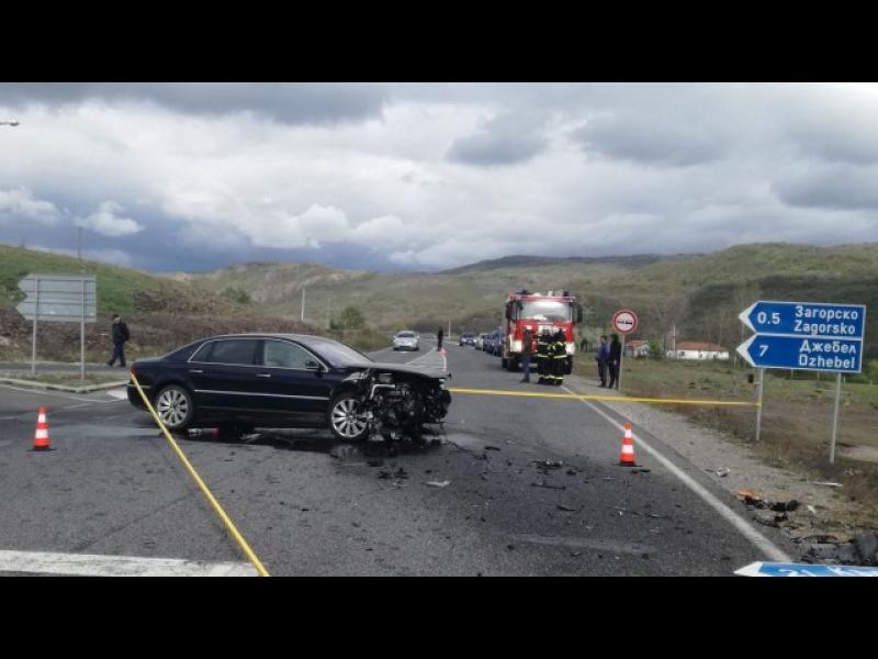 Бебе загина при катастрофа, една от колите е шофирал Лютви Местан (ВИДЕО)