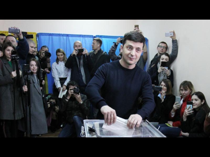Украйна ще избира президент на балотаж