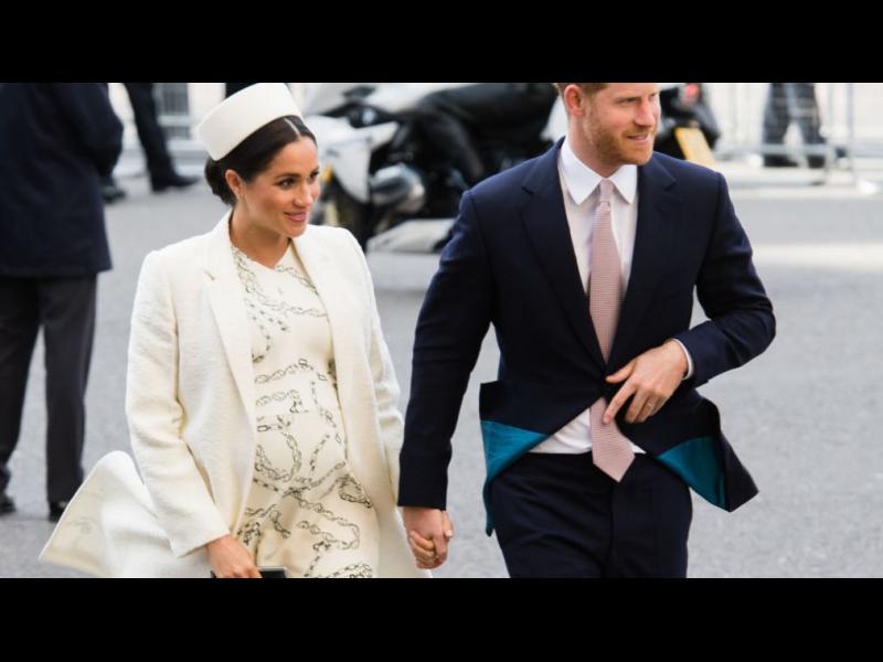 Херцогинята на Съсекс Меган роди син на принц Хари