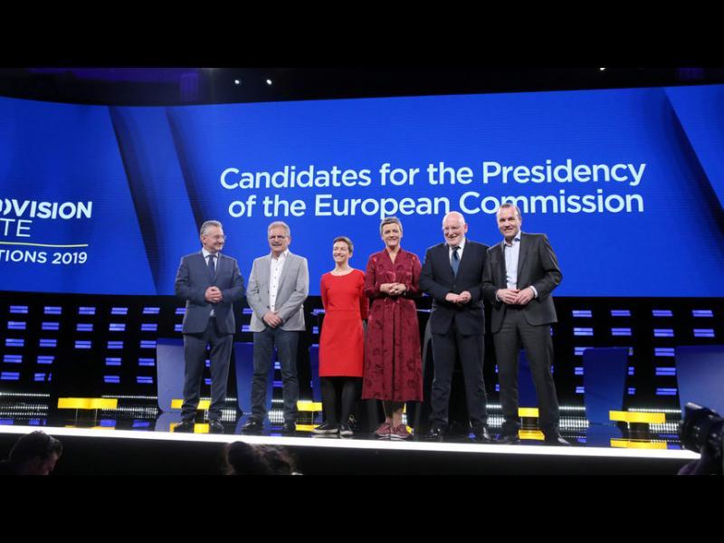 Какво казаха кандидатите за поста на Юнкер в първия си телевизионен дебат - картинка 1
