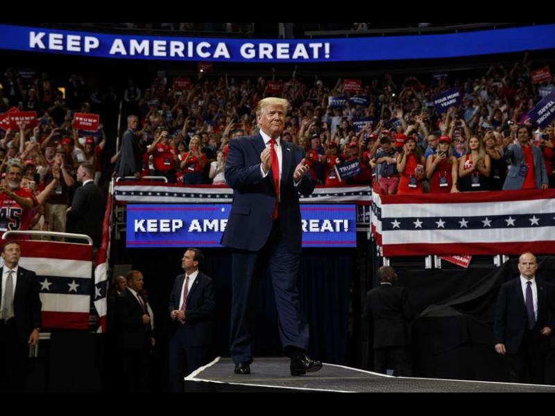 Тръмп започна кампанията си за втори мандат с обещание да запази Америка велика
