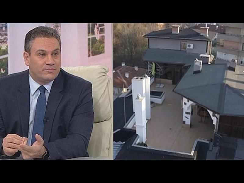 Отмениха акта за събаряне на терасата на шефа на КПКОНПИ Пламен Георгиев