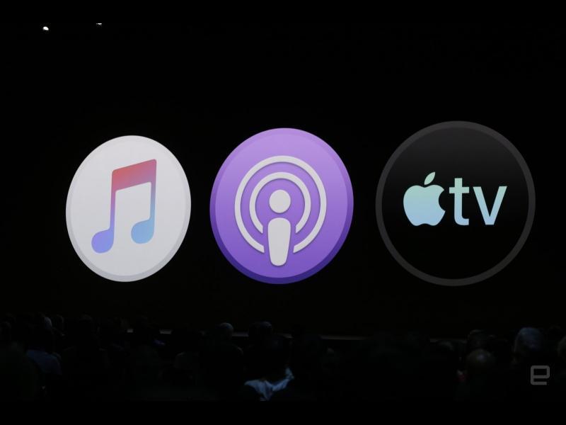 Apple заменя iTunes с три нови приложения - картинка 1