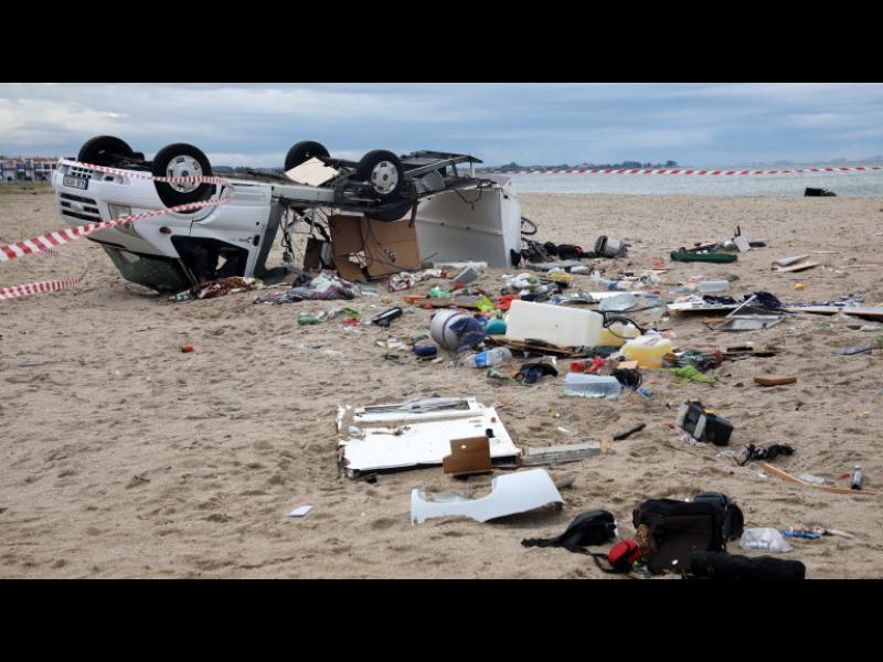 Българката, потърсила МВнР при урагана на Халкидики: Не ми помогнаха - картинка 1