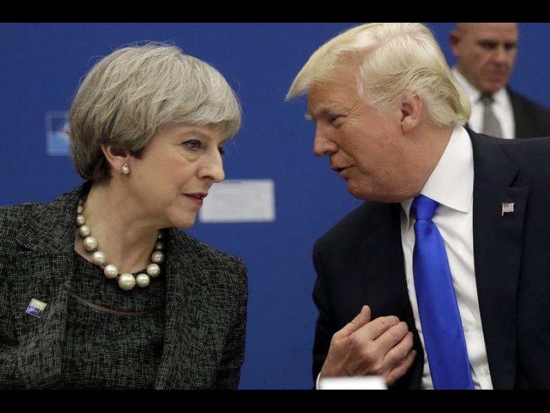 Тръмп: Радвам се, че ще сменят Мей, няма да работим с посланика й - картинка 1