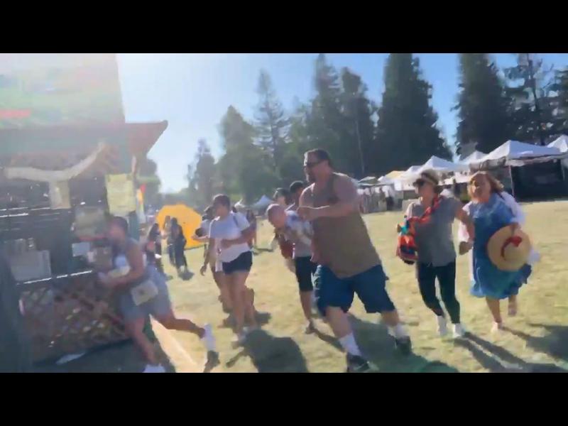 Полицията уби нападателя от Калифорния, застрелял трима на фестивал