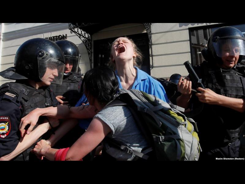 Реакцията на Кремъл към протестите в Москва може да се окаже повратна точка
