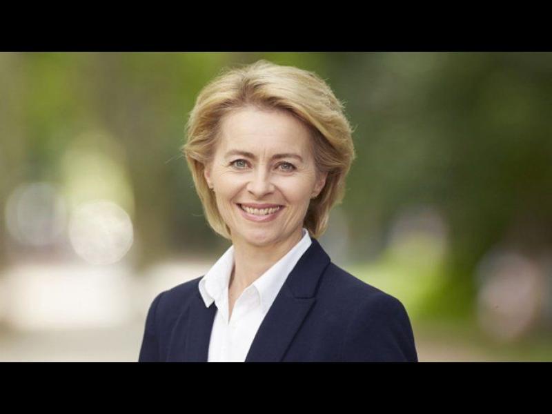 Урсула фон дер Лайен благодари и на български след избирането ѝ за председател на ЕК