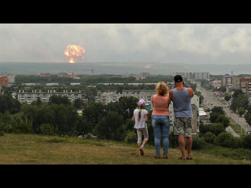 Радиацията в Северодвинск - от 4 до 16 пъти над нормата след ядрената експлозия - картинка 1