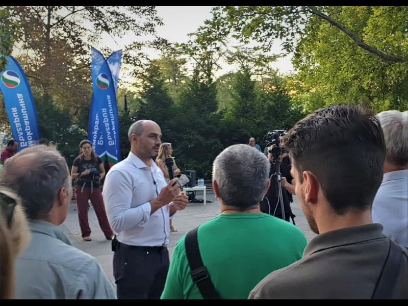 ДБ: Ще засадим по едно дърво за всеки, подкрепил Борислав Игнатов в София