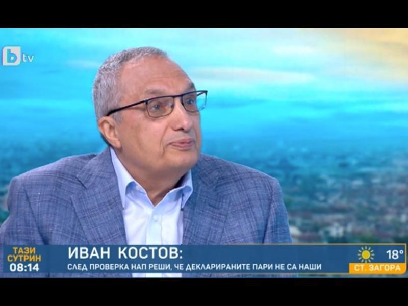 Иван Костов очаква атака от прокуратурата в средата на предизборната кампания