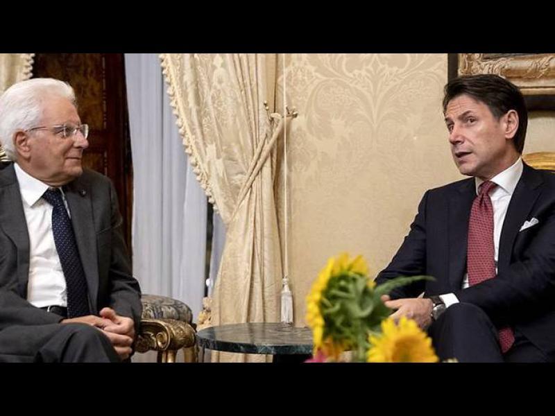 Италианският президент прие оставката на Конте