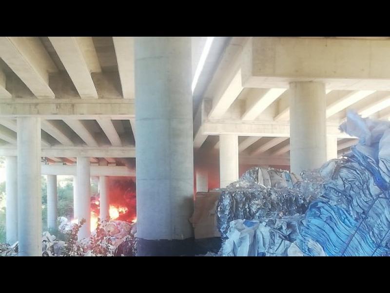"""Eкоминистерството върна боклуците край магистрала """"Струма"""""""