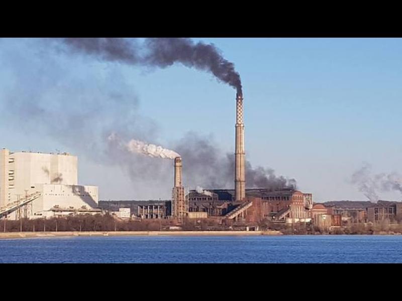 Гълъбово в черен дим заради ТЕЦ на Ковачки - картинка 1