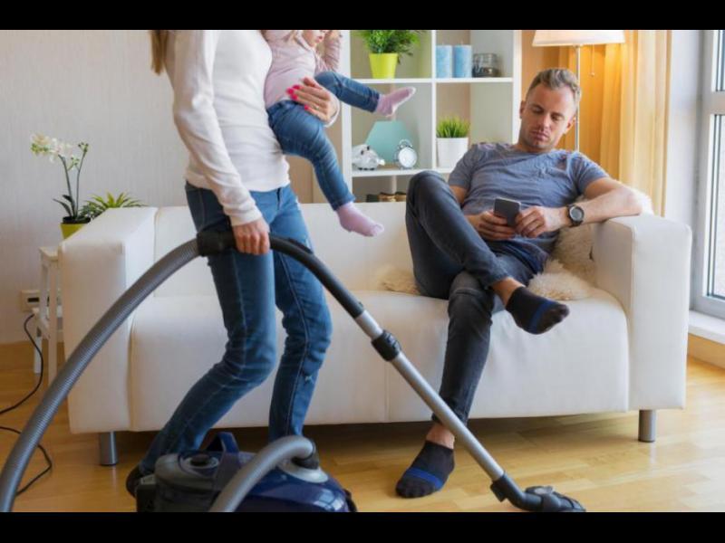 Съпругът стресира повече жената, отколкото децата и работата - картинка 1