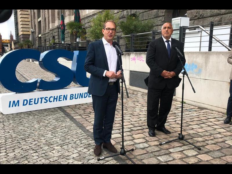Борисов: Дори да съм в опозиция, няма да приветствам влизане в Шенген