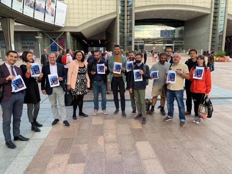 Протест срещу Гешев и в Брюксел