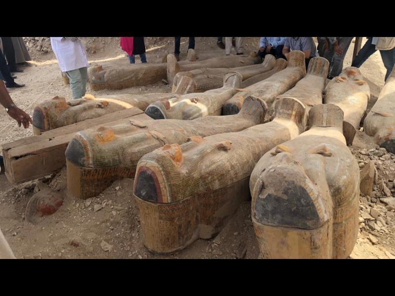 Открита е най-голямата находка от мумии
