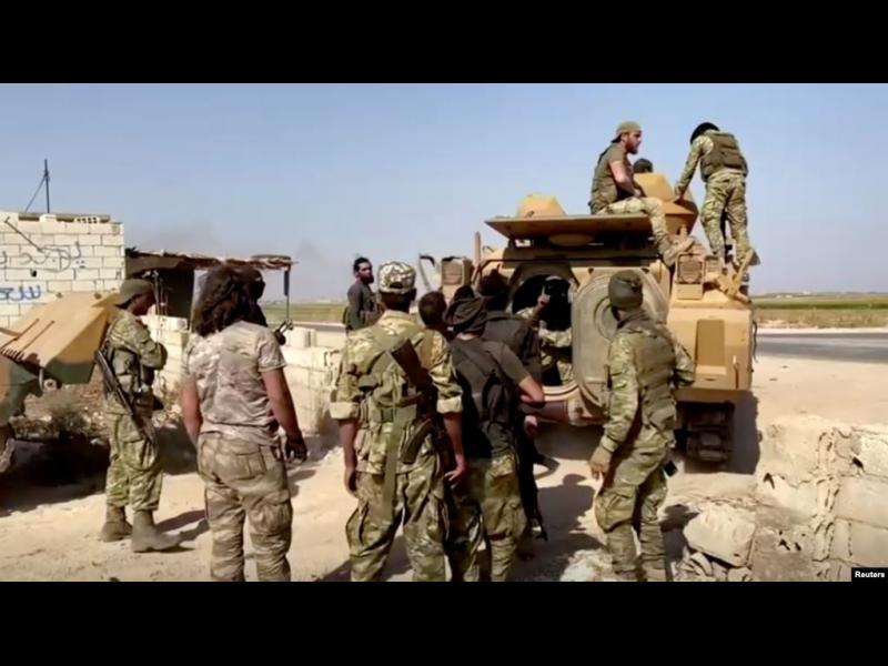 Войските на Асад поемат защитата на кюрдите от турските части