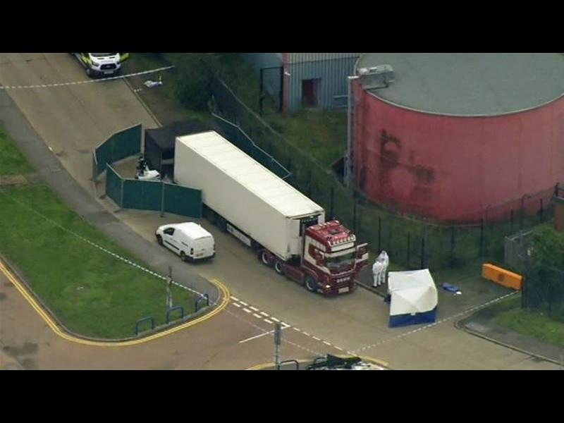 Откритите тела в камиона ковчег са на китайци
