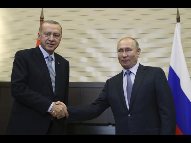 Сделката на Путин и Ердоган: Ще патрулират съвместно в Сирия