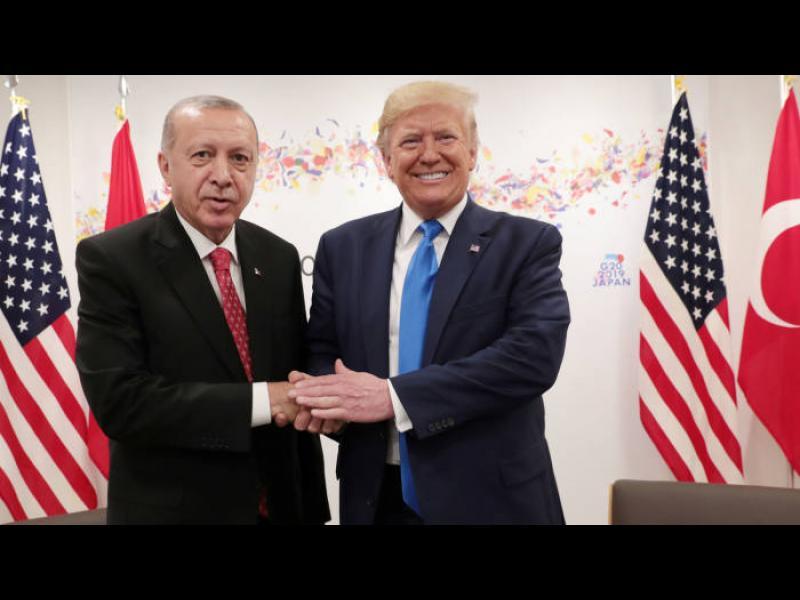 Тръмп пред Ердоган: Европа трябва да плаща повече за сирийските бежанци в Турция