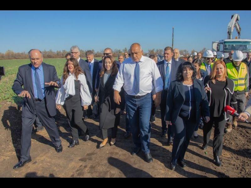 Покрай интерконектора с Гърция Борисов разчерта нова география