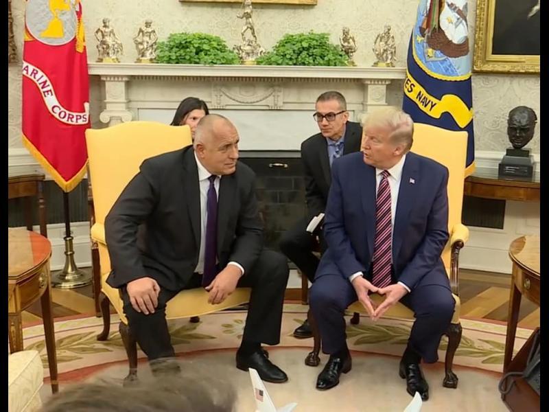 Борисов след срещата с Тръмп: Убеден съм, че визите ще паднат (ВИДЕО) (СНИМКИ)