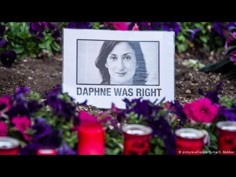Задържаха един от най-известните бизнесмени в Малта за убийството на журналистката Дафне Галиция