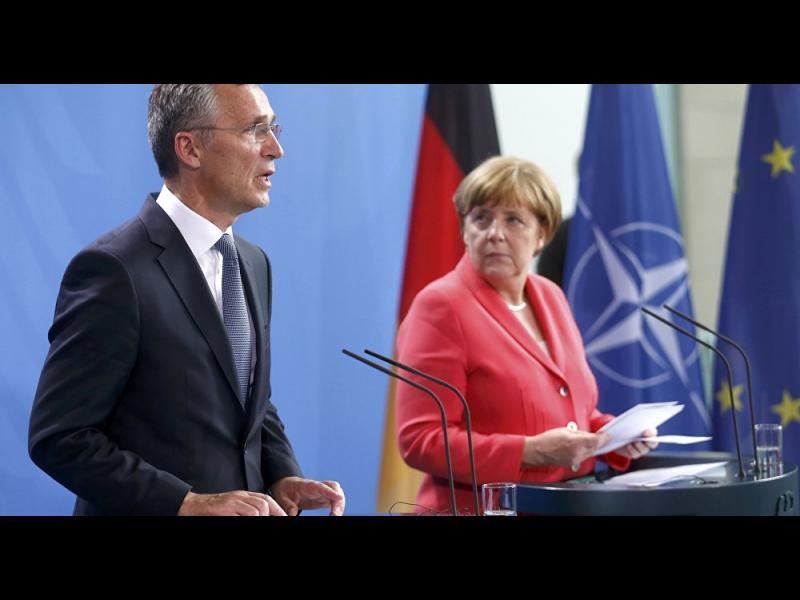 """Меркел не споделя мнението на Макрон, че НАТО е в """"мозъчна смърт"""" - картинка 1"""