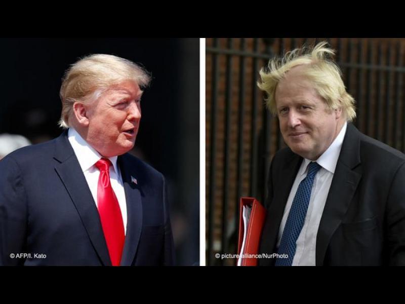 Тръмп: Без търговска сделка с Великобритания, ако приеме споразумението на Джонсън