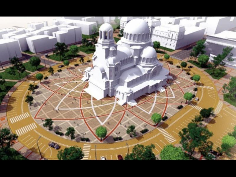 """Главен проектант на ремонта на площад """"Св. Александър Невски"""" е същият, който беше и на """"Графа"""""""