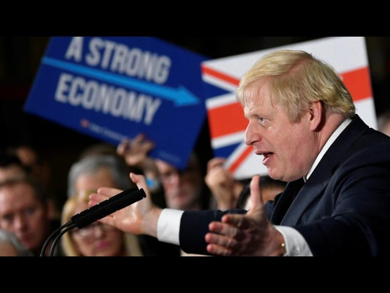 Джонсън е на път да спечели изборите с малка преднина