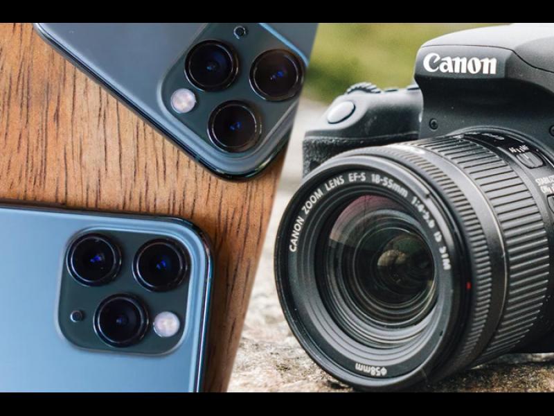 Смартфоните убиват класическите фотоапарати