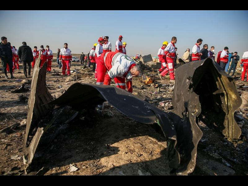 Украинският самолет най-вероятно е бил ударен погрешка от иранската ракета