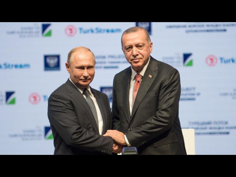 Какъв газопровод откриват Путин и Ердоган?